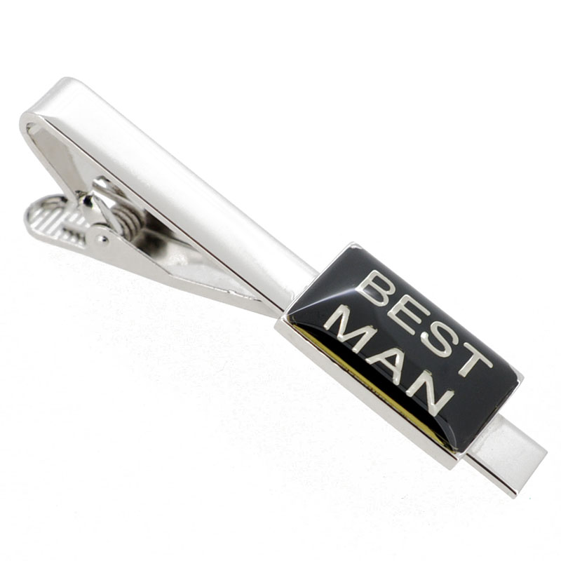 Tie clips for wedding
