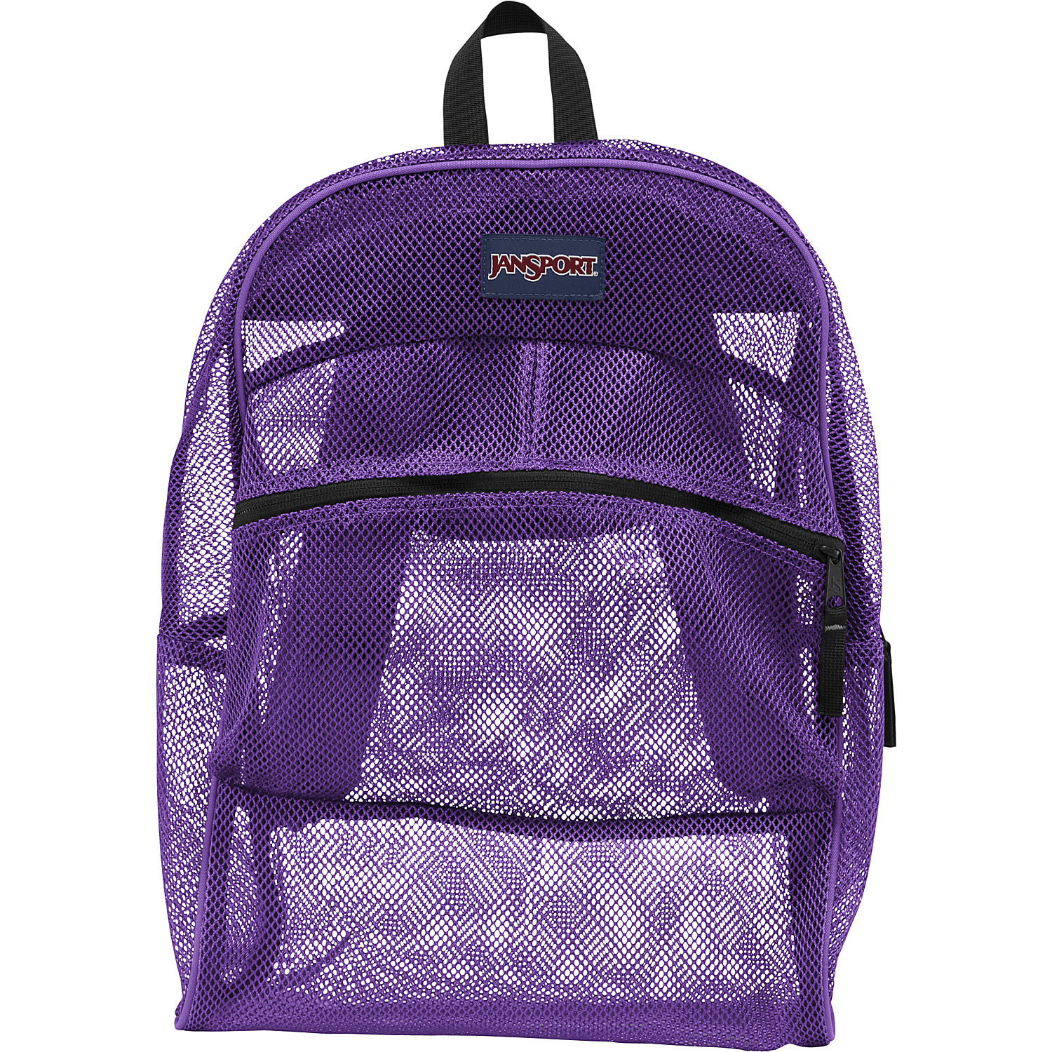 JanSport Mesh Pack School Backpack - Purple Night