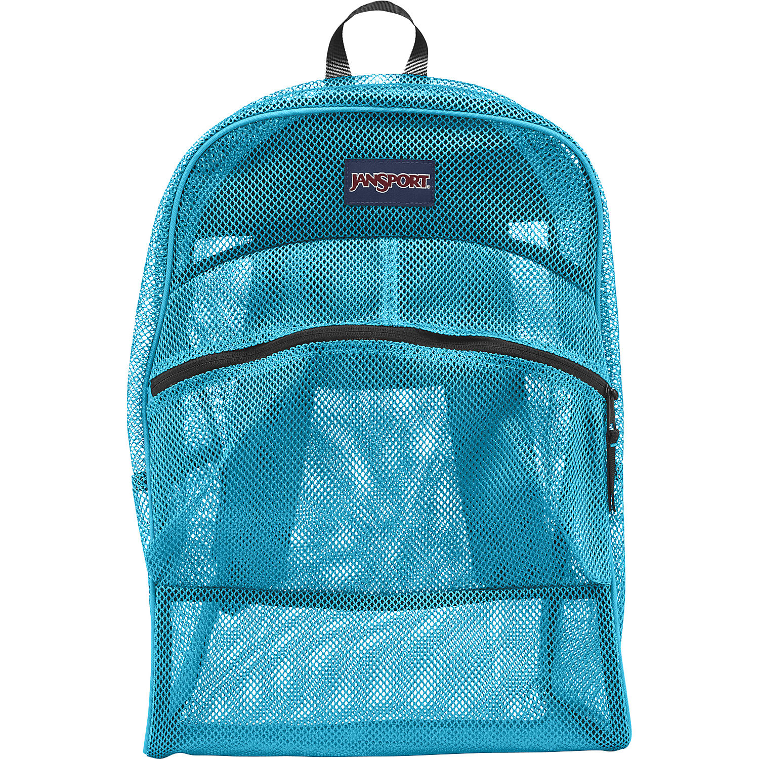 JanSport Mesh Pack School Backpack - Mammoth Blue
