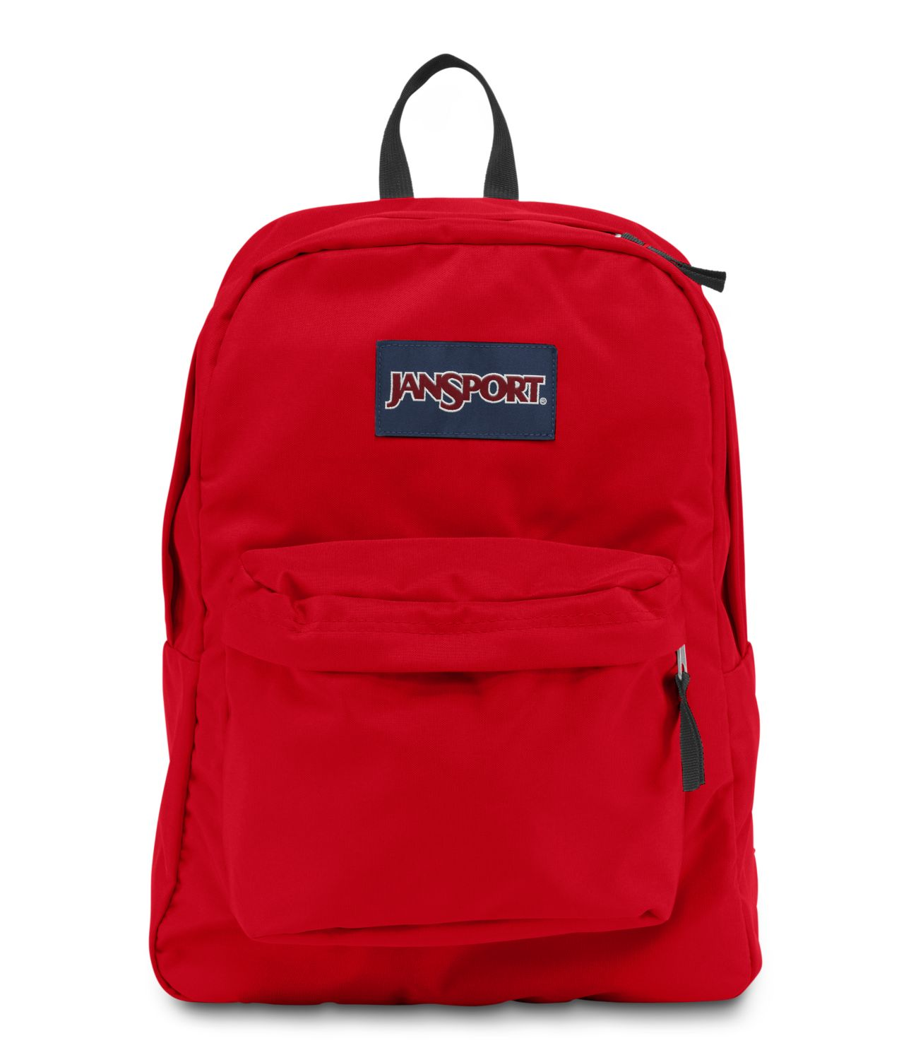 JanSport SuperBreak School Backpack - High Risk Red ...