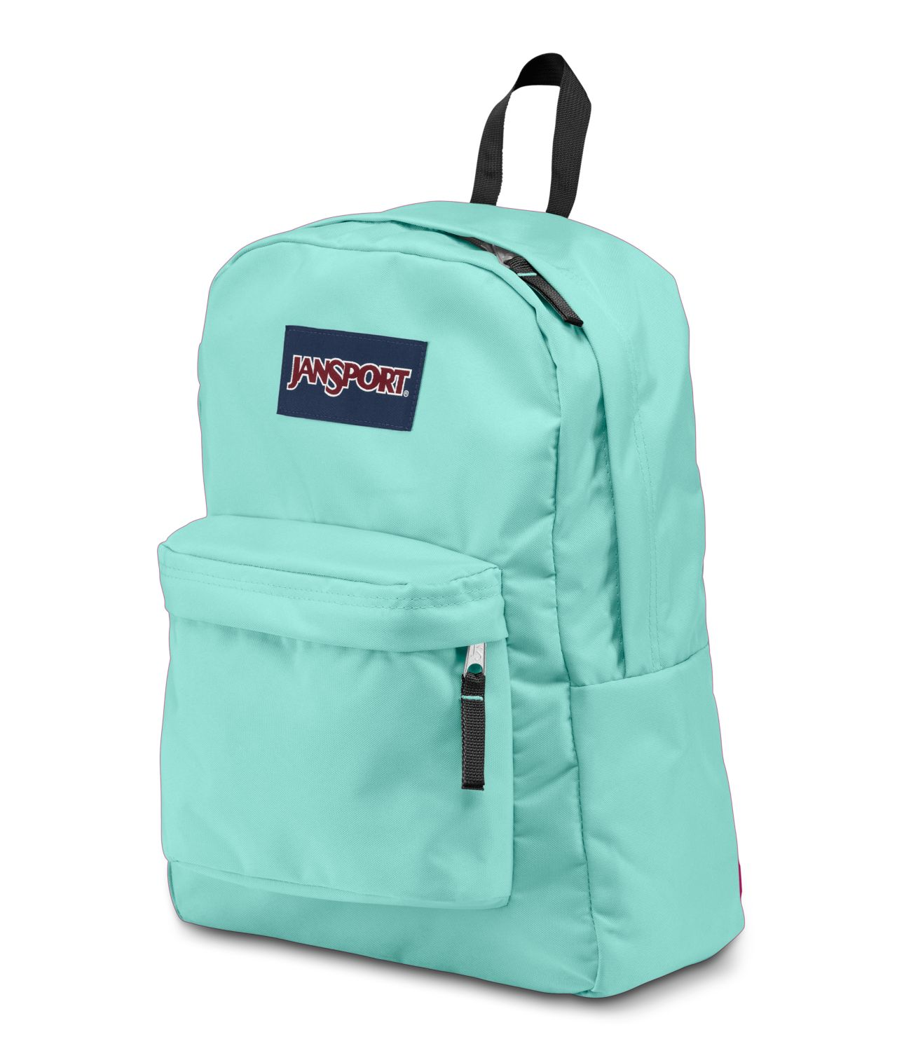 JanSport SuperBreak School Backpack - Aqua Dash