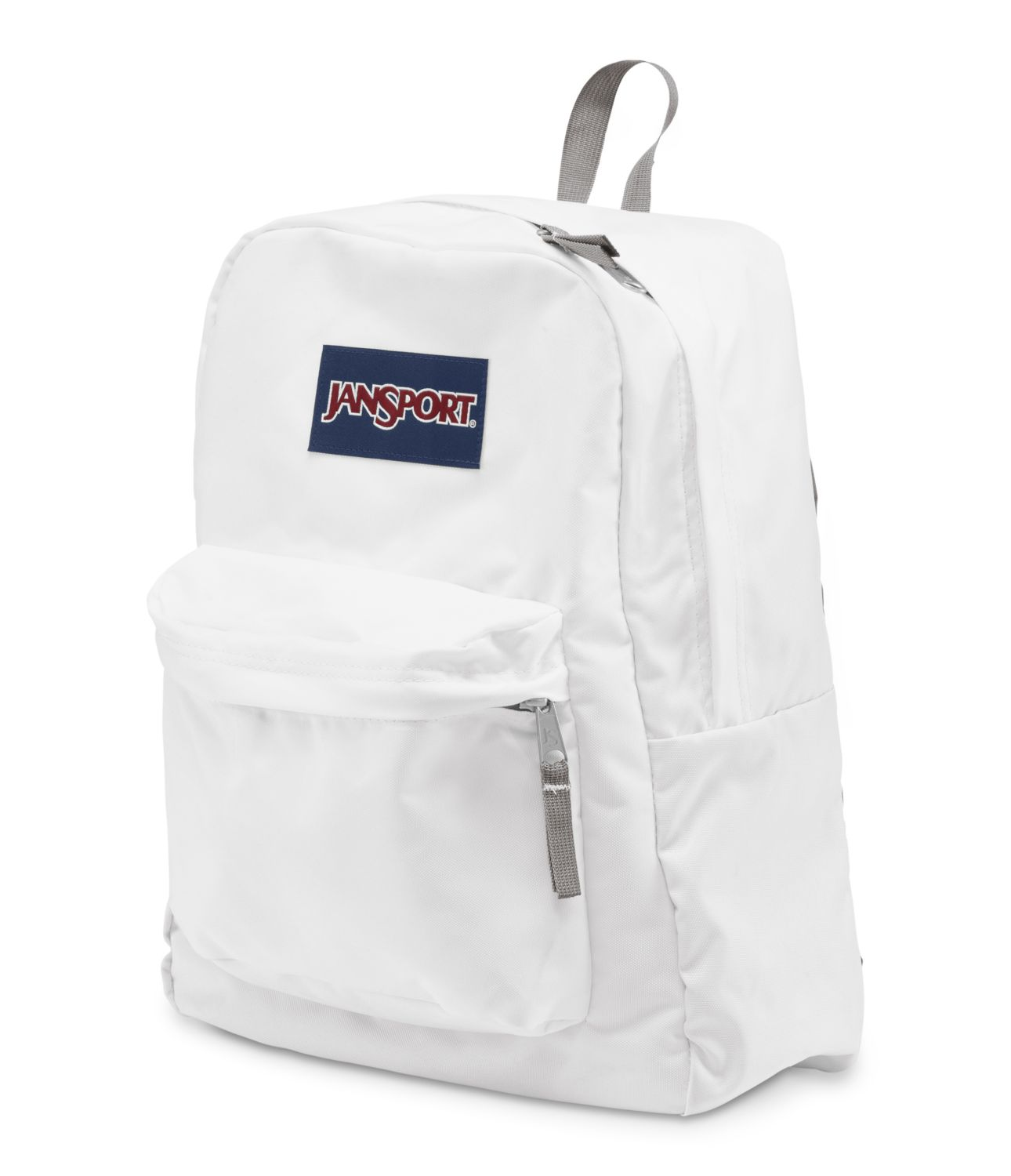 JanSport SuperBreak School Backpack - White - Fantasyard Costume ...