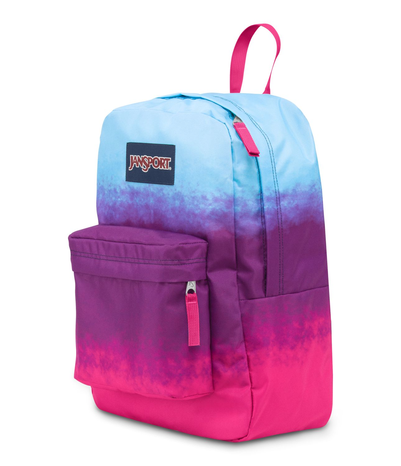 Jansport Superbreak School Backpack Purple Night Color