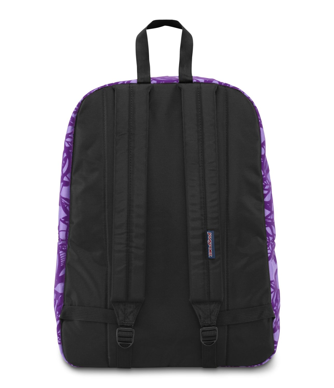 JanSport High Stakes School Backpack - PURPLE NIGHT JUNGLE ...