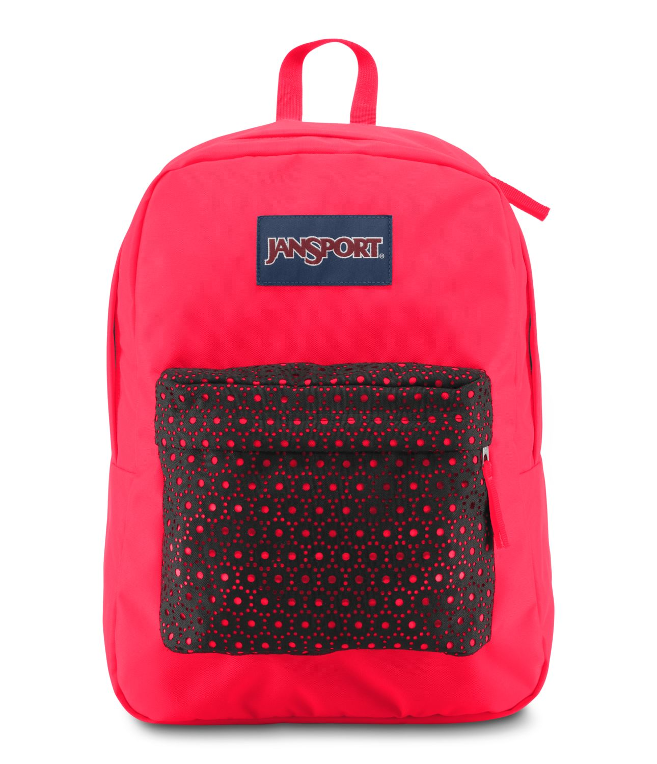 JanSport High Stakes School Backpack - BLACK LASER LACE ...