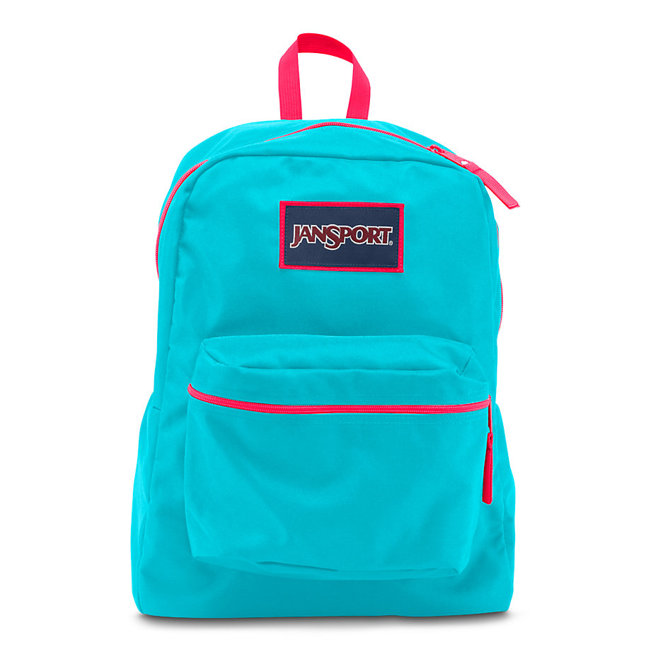 JanSport Overexposed School Backpack - Mammoth Blue ...