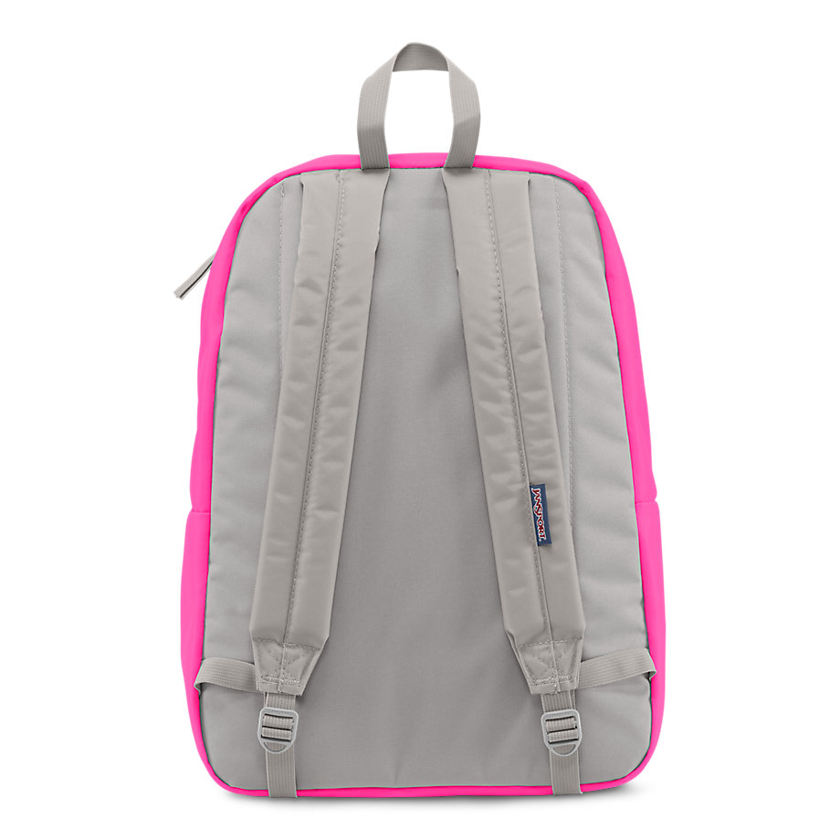 JanSport DIGIBREAK BACKPACK - FLUORESCENT PINK - Fantasyard ...