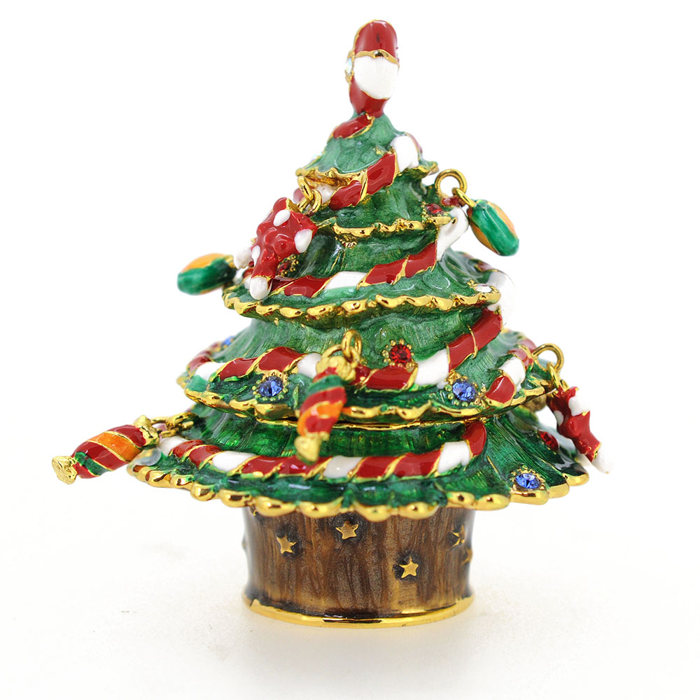 Christmas tree trinket box fantasyard costume jewelry for Christmas tree in a box