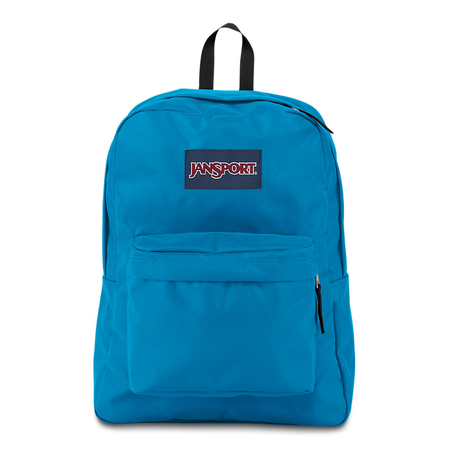 Jansport Superbreak School Backpack Blue Crest