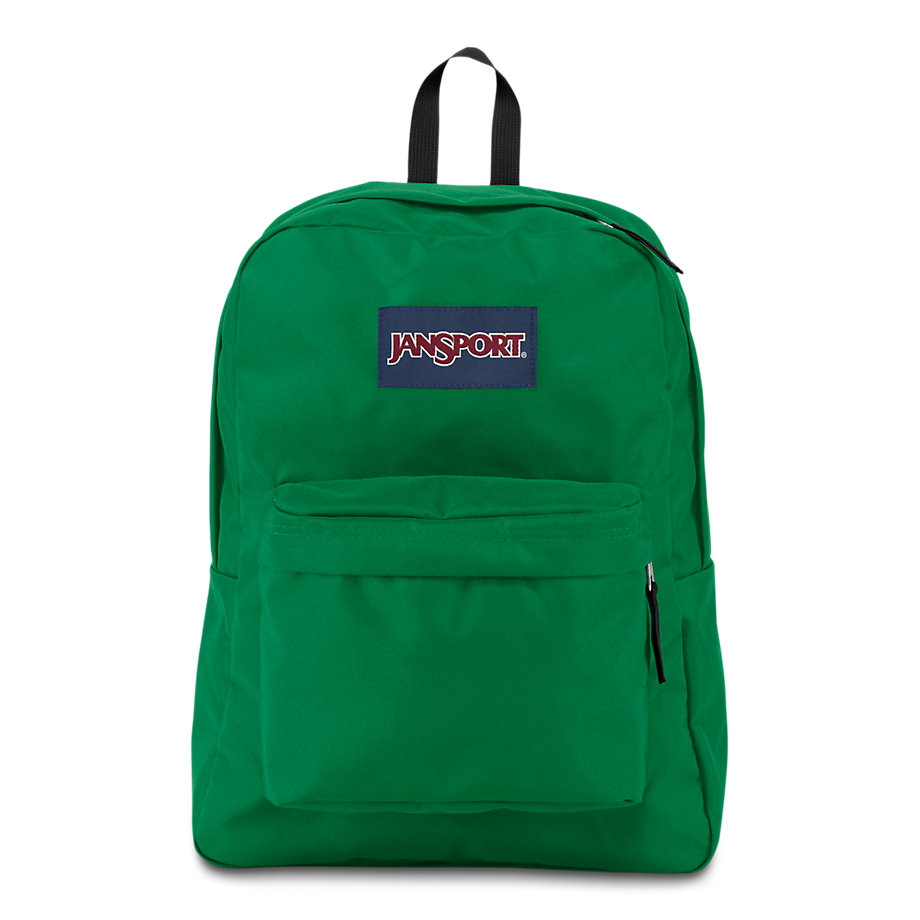 Jansport Superbreak School Backpack Amazon Green