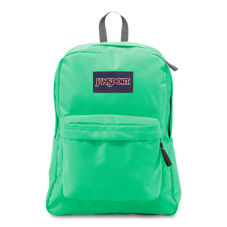 Jansport Superbreak Backpack Seafoam Green Fantasyard