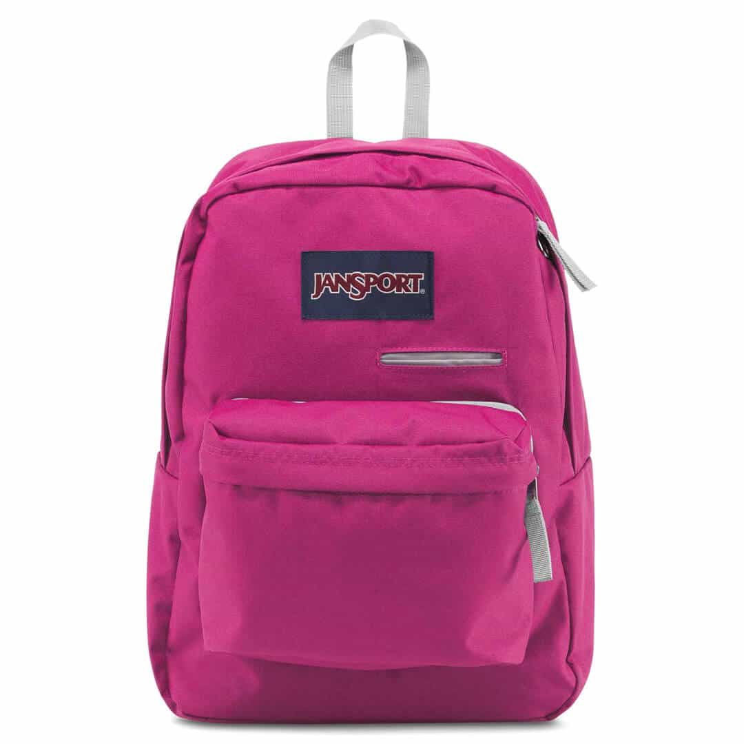 Jansport Digibreak Backpack- Cyber Pink - Fantasyard ...