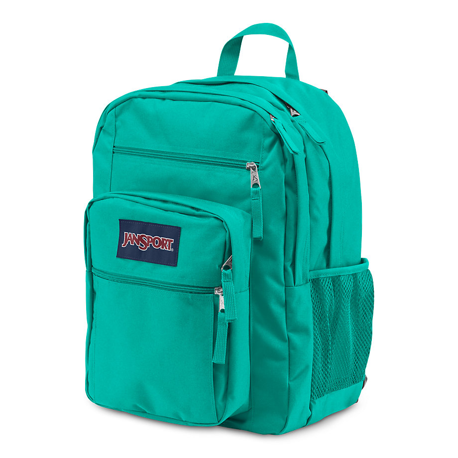 JanSport Big Student School Backpack - SPANISH TEAL - Fantasyard ...