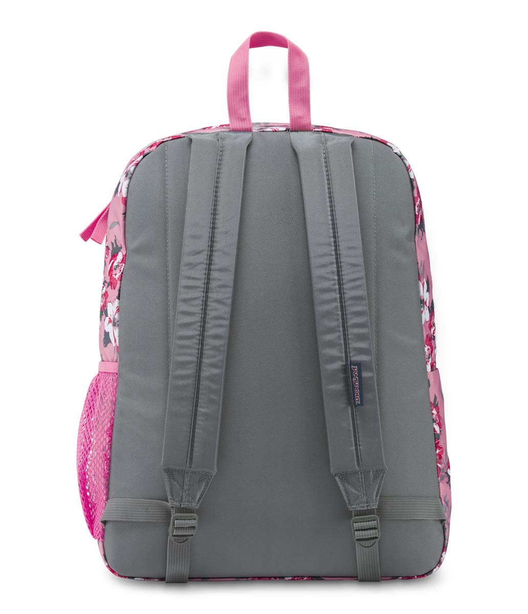 161a828aa3 Jansport Digibreak Backpack - Prism Pink Pretty Posey (Water Bottle  Compartment)