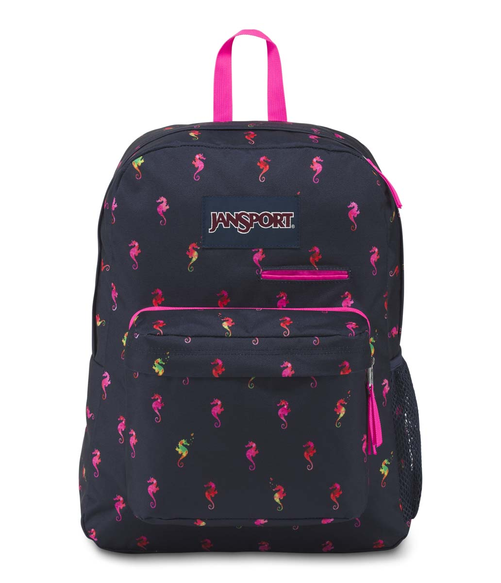 Awesome Jansport Digibreak Backpack   Sea Horse (Water Bottle Compartment)