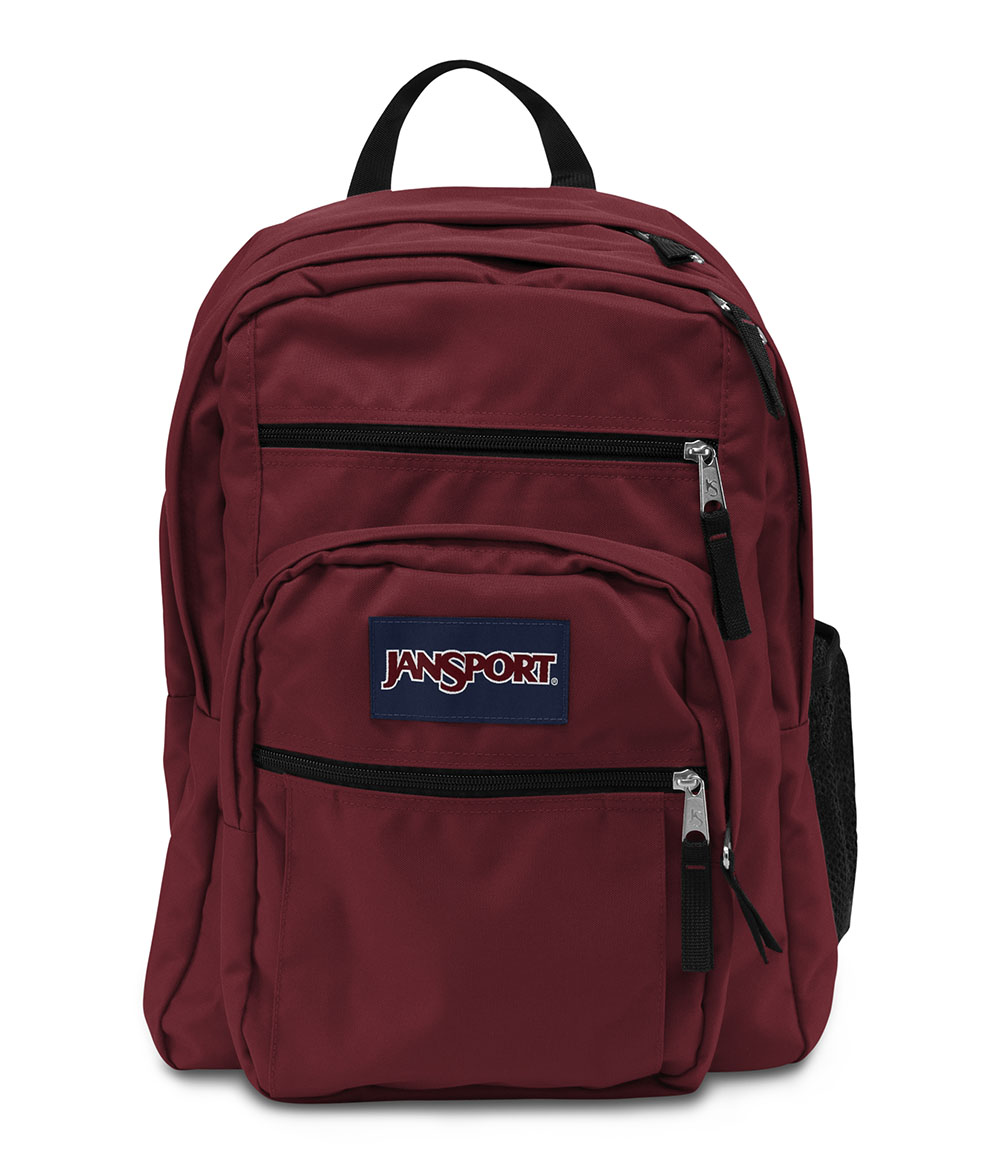 Jansport Big Student Backpack - Viking Red - Fantasyard ...