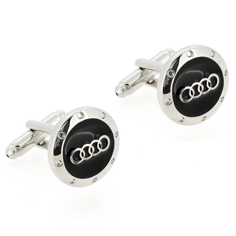 Audi Logo Black And White Black And Silver Audi Logo