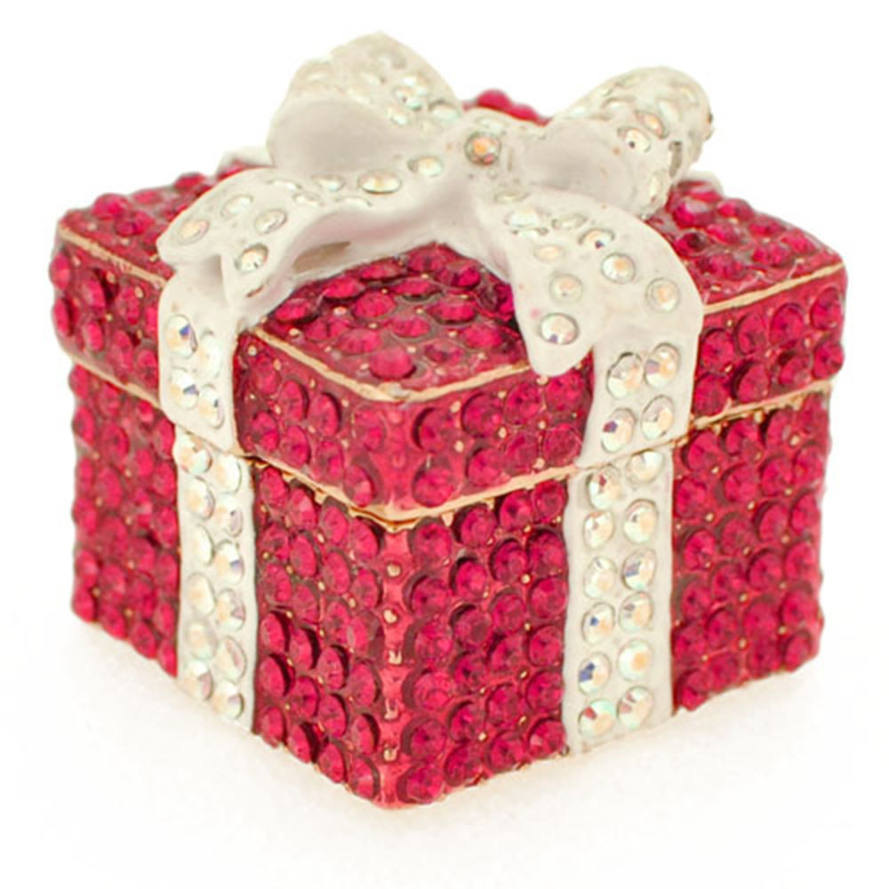 Ruby Wedding Gift Box : Ruby Gift Box Crystal Jewelry Trinket Box - Fantasyard Costume Jewelry ...