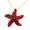 Red Crystal Starfish Swarovski Crystal Pin Brooch And Pendant(Chain Is Not Included)