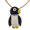 Black And White Penguin Pin Brooch And Pendant(Chain Not Included)