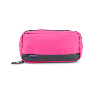 JANSPORT PIXEL ACCESSORY POUCH - FLUORESCENT PINK