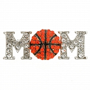 Basketball Mom Brooch Pin