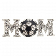 Soccer Mom Brooch Pin
