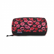 JANSPORT PIXEL ACCESSORY POUCH - BLACK KISS ME QUICK