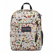 JanSport Big Student Backpack- Multi Stickers