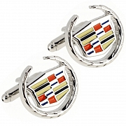 Cadillac Logo Cufflinks Automotive Car Cuff Links