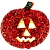 Siam Pumpkin Pin Halloween Pin Brooch